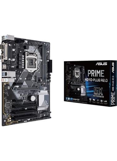 Asus Prıme H310-Plus R2.0 Intel H310 Lga1151 Ddr4 2666 Hdmı Vga M2 Usb3.1 Com Lpt Pcı Atx Win7 Win10 Destekli Renkli